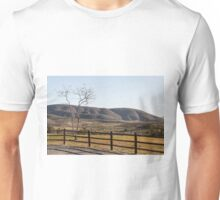 Fence Tree Mountain Unisex T-Shirt