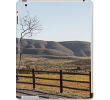 Fence Tree Mountain iPad Case/Skin