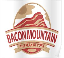 Bacon Mountain Poster