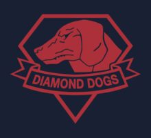 Diamond Dogs Red One Piece - Long Sleeve