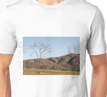 Tree and Mountain Unisex T-Shirt