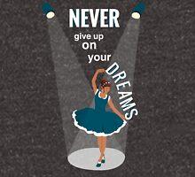 Ballerina Dream Graphic (Teal Blue) T-Shirt
