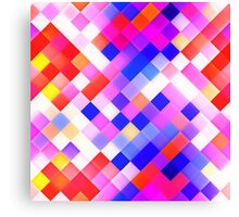 Abstract Geometric Square Pattern Canvas Print