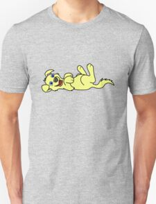 Yellow Dog - Roll Over Unisex T-Shirt