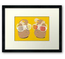 Cool Potatoes Framed Print