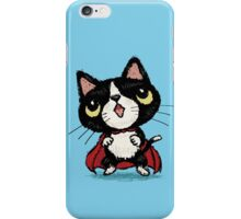 Super kitten iPhone Case/Skin
