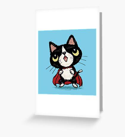 Super kitten Greeting Card