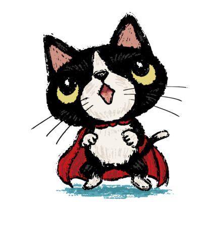 Super kitten Sticker