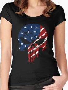 American Skull Women's Fitted Scoop T-Shirt