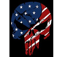 American Skull Photographic Print