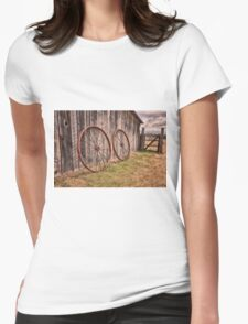 Nature 5 Womens Fitted T-Shirt