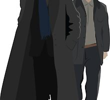 Sherlock and Watson by SarGraphics