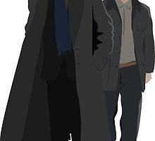 Sherlock and Watson by SarGraphics