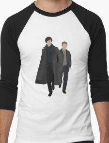 Sherlock and Watson Men's Baseball ¾ T-Shirt
