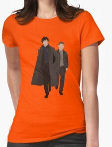 Sherlock and Watson Womens Fitted T-Shirt