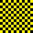 Checkered Black and Yellow by lornakay