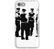 The Laughing Policemen iPhone Case/Skin