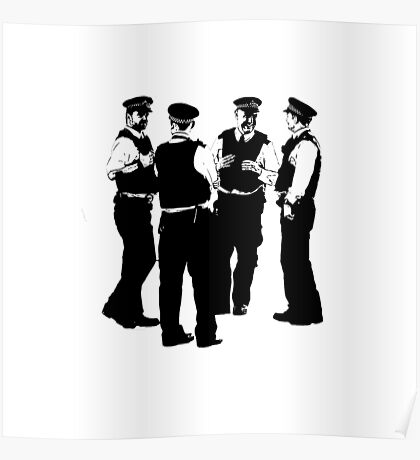 The Laughing Policemen Poster