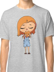 Girl with cookie Classic T-Shirt