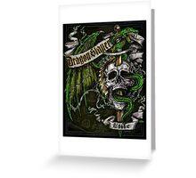 Dragon Slayer Elite Crest Greeting Card