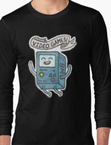 Video Games! Long Sleeve T-Shirt