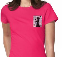Taylor Swift Silhouette Womens Fitted T-Shirt