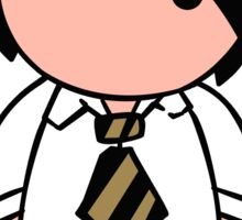 Tie Guy Jake Sticker