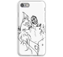 If Emeralds Fell in the Desert - Kakyoin (White) iPhone Case/Skin