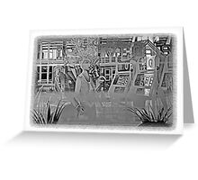 *•.¸♥♥¸.•*Etched Glass Window*•.¸♥♥¸.•* Greeting Card