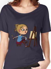 Artist at work Women's Relaxed Fit T-Shirt