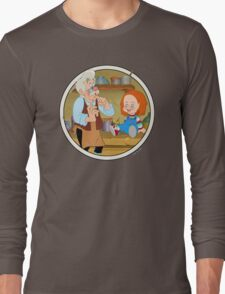 The Puppeteer and his doll  Long Sleeve T-Shirt