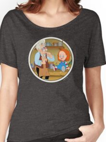 The Puppeteer and his doll  Women's Relaxed Fit T-Shirt
