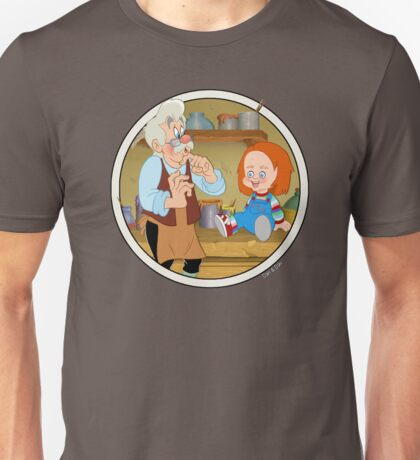 The Puppeteer and his doll  Unisex T-Shirt
