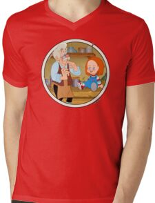 The Puppeteer and his doll  Mens V-Neck T-Shirt