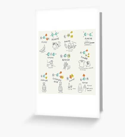 Molecules of Life Greeting Card