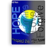The Kid Army Slogan Canvas Print
