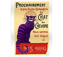 Chat de Cheshire Poster