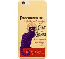 Chat de Cheshire iPhone Case/Skin