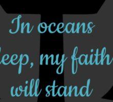 Faith Anchor Sticker