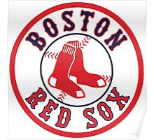 BOSTON RED SOX TEAM LOGO Poster