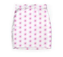 Pink Flowers Pencil Skirt