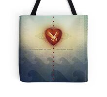 Across Oceans of Time Tote Bag