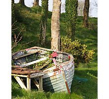 T'was a rough night last night Moville, Donegal, Ireland. Photographic Print