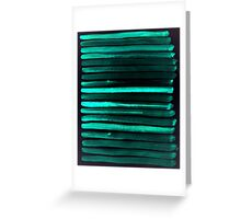 We Have Cold Winter Teal Dreams At Night Greeting Card