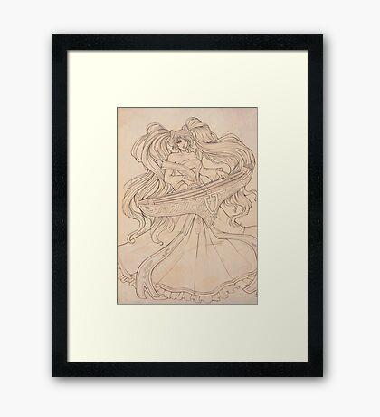 League of Legeds: Classic Sona Framed Print