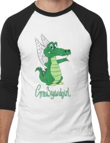 Grav3yardgirl Gator Design Men's Baseball ¾ T-Shirt