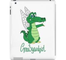 Grav3yardgirl Gator Design iPad Case/Skin