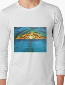 Sunset Over Troubled Waters Long Sleeve T-Shirt