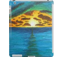 Sunset Over Troubled Waters iPad Case/Skin