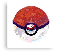 Pokemon Pokeball Lottery machine 20th Canvas Print